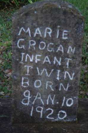 GROGAN, MARIE - Boone County, Arkansas | MARIE GROGAN - Arkansas Gravestone Photos