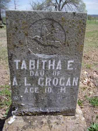 GROGAN, TABITHA E. - Boone County, Arkansas | TABITHA E. GROGAN - Arkansas Gravestone Photos