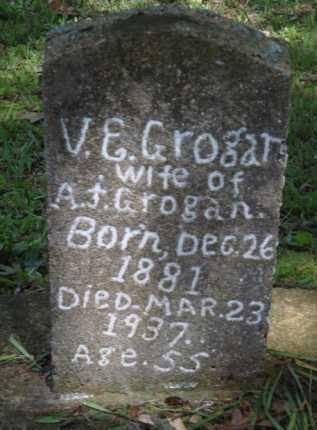 GROGAN, VIANA E. - Boone County, Arkansas | VIANA E. GROGAN - Arkansas Gravestone Photos