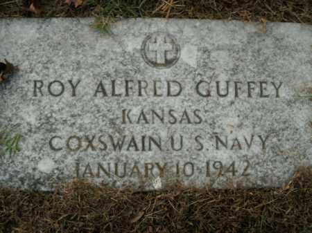 GUFFEY  (VETERAN), ROY ALFRED - Boone County, Arkansas | ROY ALFRED GUFFEY  (VETERAN) - Arkansas Gravestone Photos