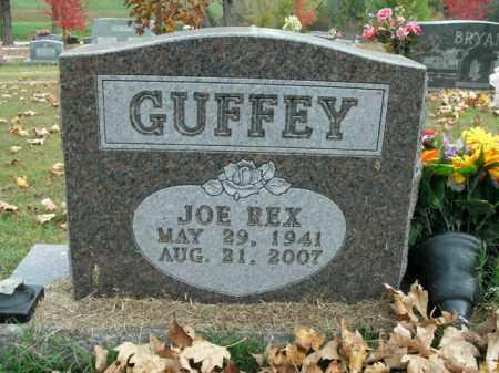GUFFEY, JOE REX - Boone County, Arkansas | JOE REX GUFFEY - Arkansas Gravestone Photos