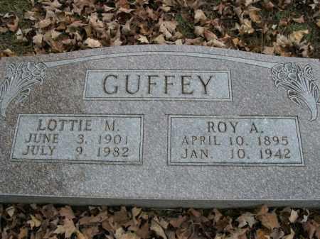 GUFFEY, LOTTIE M. - Boone County, Arkansas | LOTTIE M. GUFFEY - Arkansas Gravestone Photos