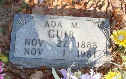 GUIR, ADA M. - Boone County, Arkansas   ADA M. GUIR - Arkansas Gravestone Photos