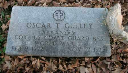 GULLEY  (VETERAN WWII), OSCAR T - Boone County, Arkansas   OSCAR T GULLEY  (VETERAN WWII) - Arkansas Gravestone Photos