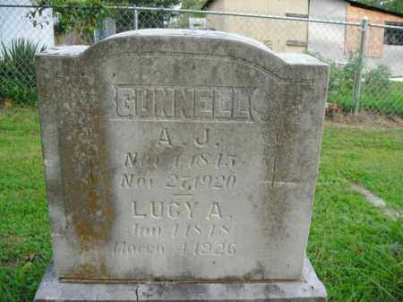 GUNNELL, LUCY A. - Boone County, Arkansas | LUCY A. GUNNELL - Arkansas Gravestone Photos