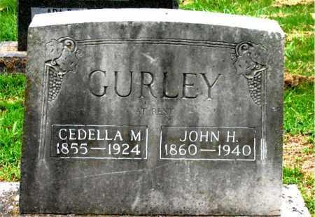 GURLEY, JOHN H. - Boone County, Arkansas | JOHN H. GURLEY - Arkansas Gravestone Photos