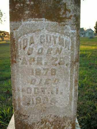 GUYNN, IDA - Boone County, Arkansas   IDA GUYNN - Arkansas Gravestone Photos