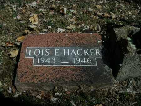 HACKER, LOIS E. - Boone County, Arkansas | LOIS E. HACKER - Arkansas Gravestone Photos