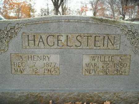 HAGELSTEIN, WILMOTH S.  (WILLIE) - Boone County, Arkansas | WILMOTH S.  (WILLIE) HAGELSTEIN - Arkansas Gravestone Photos