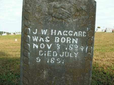 HAGGARD, J.W. - Boone County, Arkansas | J.W. HAGGARD - Arkansas Gravestone Photos