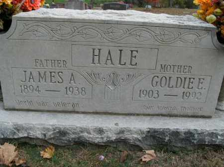 MOONEYHAM HALE, GOLDIE ESTHER - Boone County, Arkansas | GOLDIE ESTHER MOONEYHAM HALE - Arkansas Gravestone Photos