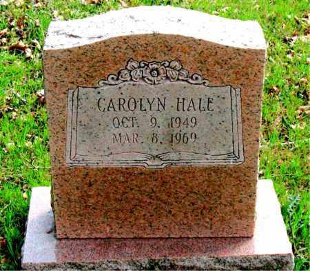 HALE, CAROLYN - Boone County, Arkansas | CAROLYN HALE - Arkansas Gravestone Photos