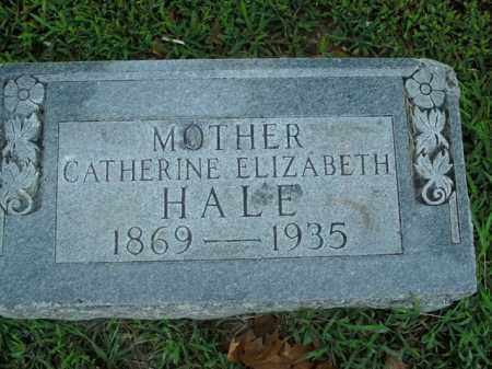 HALE, CATHERINE ELIZABETH - Boone County, Arkansas | CATHERINE ELIZABETH HALE - Arkansas Gravestone Photos
