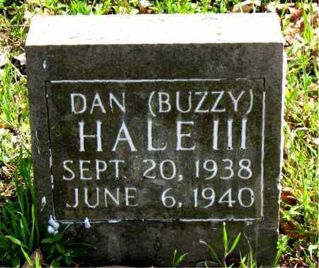 HALE, III, DAN (BUZZY) - Boone County, Arkansas | DAN (BUZZY) HALE, III - Arkansas Gravestone Photos