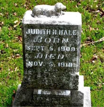 HALE, JUDITH  M. - Boone County, Arkansas   JUDITH  M. HALE - Arkansas Gravestone Photos