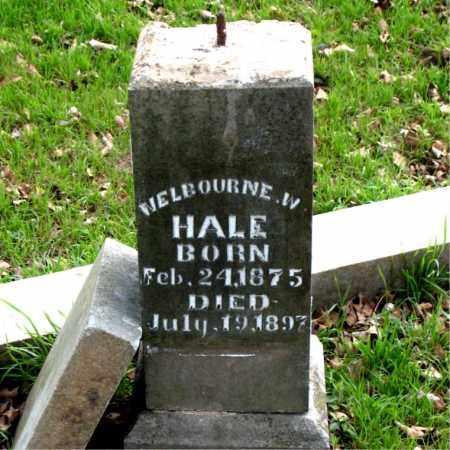 HALE, WELBOURNE  W - Boone County, Arkansas | WELBOURNE  W HALE - Arkansas Gravestone Photos
