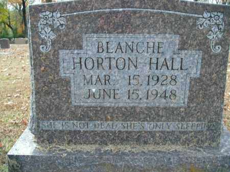 HORTON HALL, BLANCHE - Boone County, Arkansas | BLANCHE HORTON HALL - Arkansas Gravestone Photos