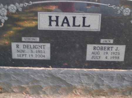 HALL, R. DELIGHT - Boone County, Arkansas | R. DELIGHT HALL - Arkansas Gravestone Photos
