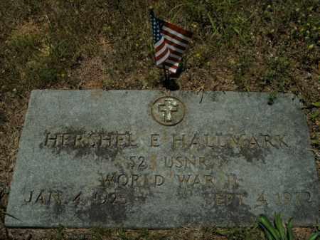 HALLMARK  (VETERAN WWII), HERSHEL E. - Boone County, Arkansas   HERSHEL E. HALLMARK  (VETERAN WWII) - Arkansas Gravestone Photos