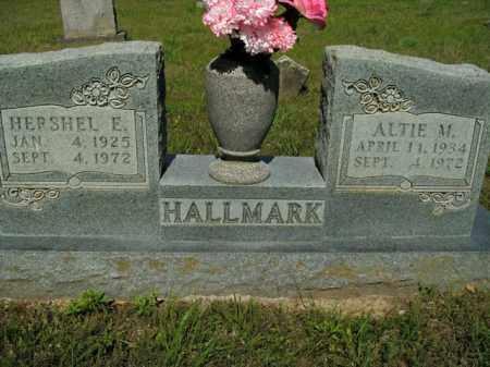 HALLMARK, HERSHEL E. - Boone County, Arkansas | HERSHEL E. HALLMARK - Arkansas Gravestone Photos