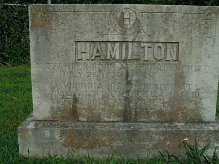 HAMILTON, EMMA VIRGINIA - Boone County, Arkansas   EMMA VIRGINIA HAMILTON - Arkansas Gravestone Photos