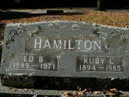 HAMILTON, RUBY C. - Boone County, Arkansas | RUBY C. HAMILTON - Arkansas Gravestone Photos