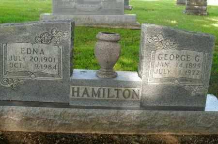 HAMILTON, EDNA - Boone County, Arkansas | EDNA HAMILTON - Arkansas Gravestone Photos