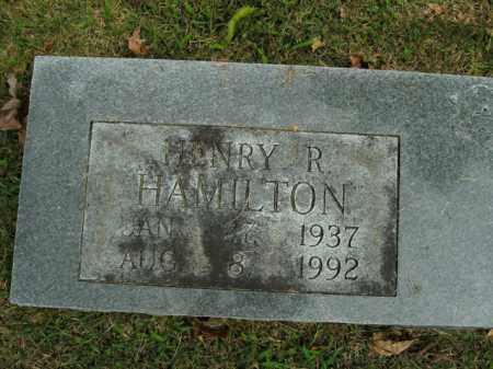 HAMILTON, HENRY R. - Boone County, Arkansas | HENRY R. HAMILTON - Arkansas Gravestone Photos