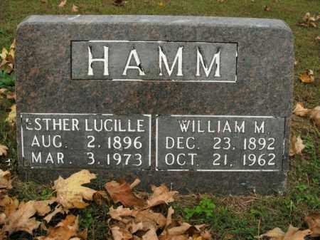 HAMM, WILLIAM M. - Boone County, Arkansas | WILLIAM M. HAMM - Arkansas Gravestone Photos