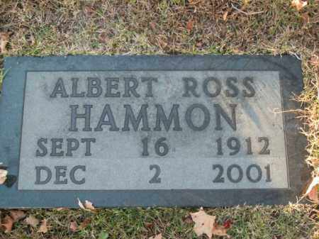 HAMMON, ALBERT ROSS - Boone County, Arkansas | ALBERT ROSS HAMMON - Arkansas Gravestone Photos