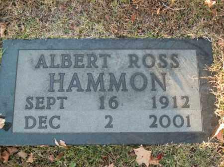 HAMMON, ALBERT ROSS - Boone County, Arkansas | ALBERT ROSS HAMMON - Arkansas Gravestone Photos