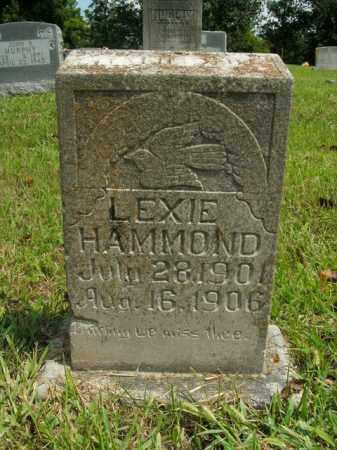 HAMMOND, LEXIE - Boone County, Arkansas | LEXIE HAMMOND - Arkansas Gravestone Photos