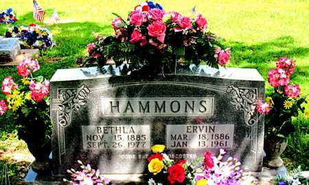 CAMPBELL HAMMONS, BETHLA - Boone County, Arkansas | BETHLA CAMPBELL HAMMONS - Arkansas Gravestone Photos