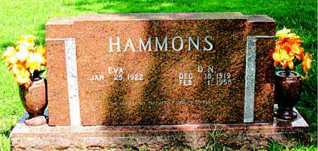 HAMMONS, D. NATHAN JR - Boone County, Arkansas | D. NATHAN JR HAMMONS - Arkansas Gravestone Photos