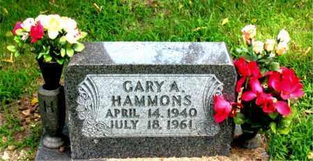 HAMMONS, GARY ALLEN - Boone County, Arkansas | GARY ALLEN HAMMONS - Arkansas Gravestone Photos