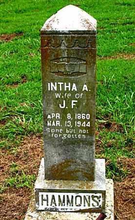 HAMMONS, INTHA A. - Boone County, Arkansas | INTHA A. HAMMONS - Arkansas Gravestone Photos