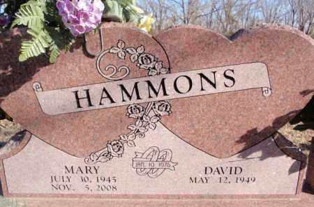 HAMMONS, MARY - Boone County, Arkansas | MARY HAMMONS - Arkansas Gravestone Photos