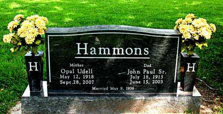 HAMMONS, OPAL UDELL - Boone County, Arkansas | OPAL UDELL HAMMONS - Arkansas Gravestone Photos