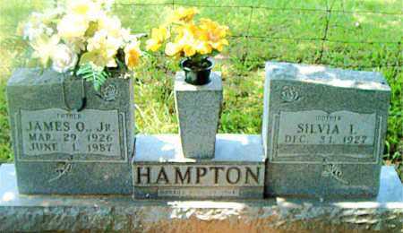 HAMPTON, JR, JAMES O. - Boone County, Arkansas | JAMES O. HAMPTON, JR - Arkansas Gravestone Photos