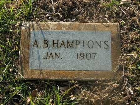 HAMPTONS, A.B. - Boone County, Arkansas | A.B. HAMPTONS - Arkansas Gravestone Photos