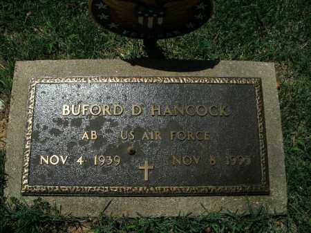 HANCOCK  (VETERAN), BUFORD D. - Boone County, Arkansas   BUFORD D. HANCOCK  (VETERAN) - Arkansas Gravestone Photos