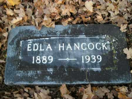 HANCOCK, EDLA - Boone County, Arkansas | EDLA HANCOCK - Arkansas Gravestone Photos
