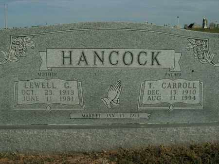 HANCOCK, T. CARROLL - Boone County, Arkansas | T. CARROLL HANCOCK - Arkansas Gravestone Photos