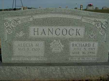 HANCOCK, RICHARD E. - Boone County, Arkansas | RICHARD E. HANCOCK - Arkansas Gravestone Photos