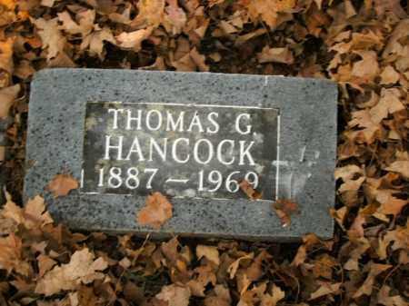 HANCOCK, THOMAS G. - Boone County, Arkansas | THOMAS G. HANCOCK - Arkansas Gravestone Photos
