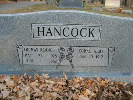 HANCOCK (VETERAN KOR), THOMAS KENNETH - Boone County, Arkansas | THOMAS KENNETH HANCOCK (VETERAN KOR) - Arkansas Gravestone Photos