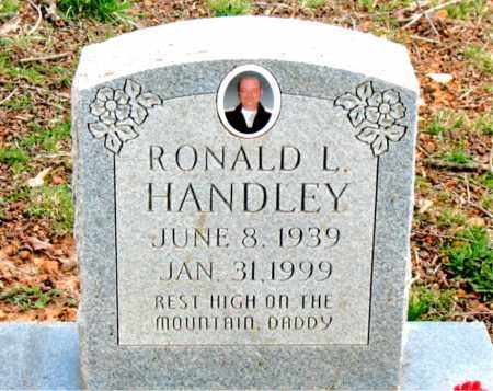 HANDLEY, RONALD  L. - Boone County, Arkansas   RONALD  L. HANDLEY - Arkansas Gravestone Photos