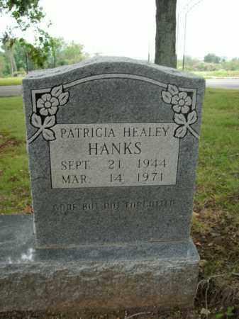 HANKS, PATRICIA HEALEY - Boone County, Arkansas   PATRICIA HEALEY HANKS - Arkansas Gravestone Photos