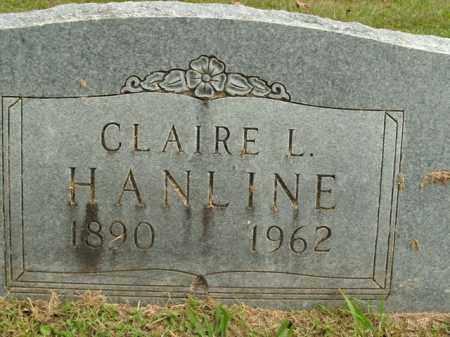 HANLINE, CLAIRE L. - Boone County, Arkansas | CLAIRE L. HANLINE - Arkansas Gravestone Photos