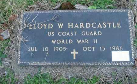 HARDCASTLE  (VETERAN WWII), LLOYD W - Boone County, Arkansas | LLOYD W HARDCASTLE  (VETERAN WWII) - Arkansas Gravestone Photos